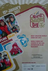Most Creative World Snow Day 2017 - SSK Maksimir